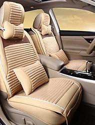 auto in pelle tappezzeria di lusso inverno batuffolo caldo copertura di sede posteriore universale 125-133-140 cm