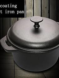 ferro fundido holandês forno ferro fundido panelas de cozinha panela de sopa guisado