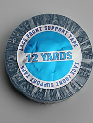 encaje de apoyo frontal cintas adhesivas 12 yardas estupenda cinta de pelo de la cinta adhesiva de doble cara