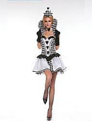 Halloween / Carnaval - para Mujer - Disfraces de Temas de Películas y Televisión / Zombi / Fantasma - Disfraces -Vestido / Pañuelo /