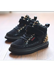 Kids' Shoes Casual Comfort Fashion Sneakers Black / Gold
