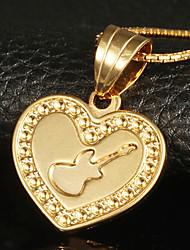 Bettr 18K Gold Vacuum Plating Gold Retro European Pendant Necklace