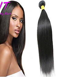 8-26inch Brazilian Virgin Hair Straight Hair Natural Black Color ,Cheap Brazilian Hair Raw Human Hair Weaves.