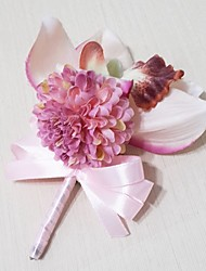 Wedding Flowers Free-form Peonies Boutonnieres