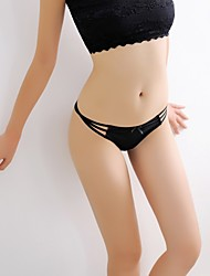 Women's Sexy Ice Silk Seemless Lingerie G-string Thong Panty T-back
