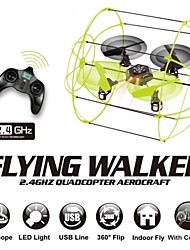 Flying Walker FY312 Drone 4CH RC Quadcopter 2.4Ghz 4-Axis Ready to Fly Radio Control Wall Climbing Helicopter