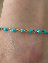 Women's Simple Handmade Pearl Anklet
