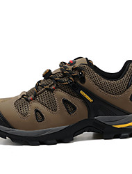 Men's Hiking Shoes Leather / Tulle Brown / Gray