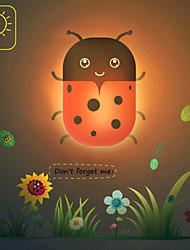 Cute Ladybird Ladybug Light Induction Control LED Wall Lamp Night Light Night lamp Children Christmas Birthday Gift