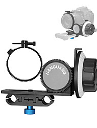 2015 novo follow foco cn-90f com cinto de anel de engrenagem para Nikon Canon câmeras DSLR lente filmadoras