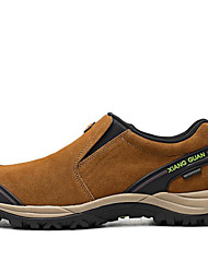 Men's Hiking Shoes Leather Brown / Gray