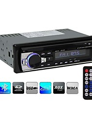 Bluetooth Car Stereo Audio In-Dash Single-Din FM Receiver Aux Input Receiver SD USB MP3 Radio Player 12V