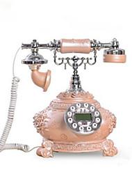 la mode nouveauté maison créative décor roses téléphoniques filaires antique