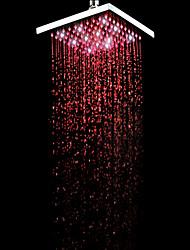 Chuveiro Tipo Chuva Contemporâneo LED / Efeito Chuva Latão Cromado