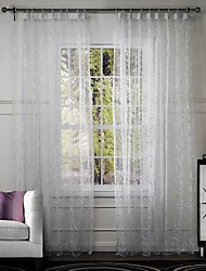 One Panel Curtain Designer Living Room Poly / Cotton Blend Material Curtains Drapes Home Decoration For Window