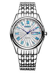 Vodoy®Men's Wrist Watch  Steel Water Resistant Mechanical Watch Automatic Double Calendar Mechanical Men Watches