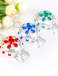 Fashion Forward Unique Fire Red Green Quartz Blue Topaz Gems 925 Silver Pendants for Necklaces For Party Daily 1pc