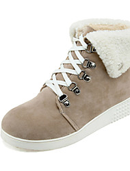Women's Shoes Wedges / Fashion Boots Boots Outdoor / Office & Career / Casual Wedge Heel OthersBlack / &303-3