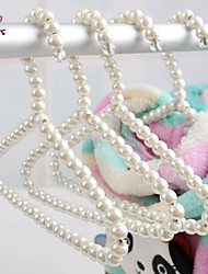 FUN OF PETS® Lovely Pearls Made  Clothes Hanger for Pets Dogs &Cats 1pc