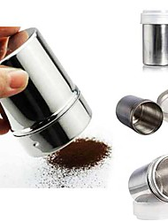 Chocolate Powder Cocoa Flour Shaker Icing Sugar Cappuccino Coffee Sifter Bottle