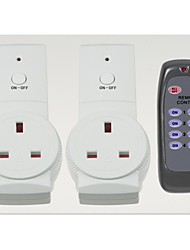 Wireless UK Plug Remote Control Socket Switch And Remote Control