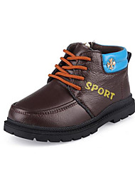 Children's Shoes Casual Leather / Patent Leather Oxfords Blue / Brown / Yellow