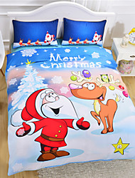 Christmas Duvet Cover Set Gift Bedding Set Twin Full Queen