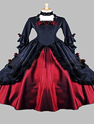 Steampunk®Long Party Dress Halloween Costume Medieval Dress Gown Renaissance Faire Costume
