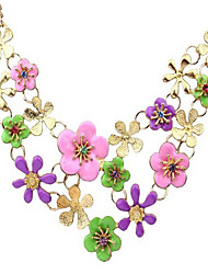 MPL Fresh garden style Korean style drop flowers Fashion Necklace