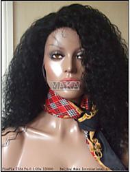 Brazilian Virgin Hair Deep Curl  Full Lace Wig Glueless full lace wigs