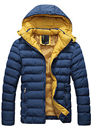Uonuode Man'S The New Men'S Warm Jacket Slim Tide Men'S Casual Warm Thick Padded Coat