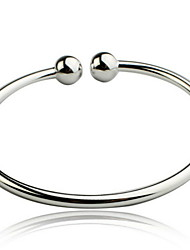 Woman Sterling Silver Opening Bracelet Jewelry