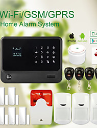 allarme wifi + GSM casa sistema di sicurezza wireless ladro gs-g90b