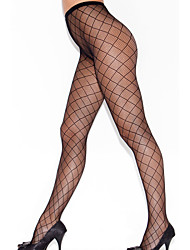 Women's Diamond Fence Pantyhose