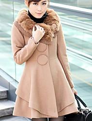 Women's Fur Collar  Warm Coats