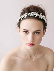 die neue Braut High-End-Reifen reine manuelle Haarband Silber-Kristall-Diamant