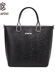 Alfa Artist The Camellia Love Series PU Leather Messenger Shoulder Bag/Handbag Totes