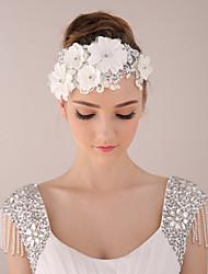 Bride Women's Lace Headwear / Headpiece Wedding Headdress / Special Occasion / Casual Flowers / Hair Accessories 1 Piec