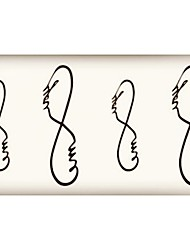 (10pcs)HC53-New Design Fashion Temporary Tattoo Stickers Temporary Body Art Waterproof Tattoo Pattern