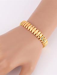 Vogue New Vintage Wrap Bracelet Bangle 18K Gold Platinum Plated Jewelry for Women Men High Quality