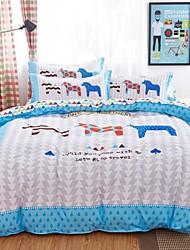 zebra cama conjunto de 4pcs para uso de quatro temporadas
