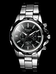 Мужской Наручные часы Кварцевый сплав Группа Серебристый металл