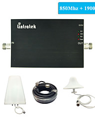 New Arrival CDMA PCS Signal Repeater GSM 850Mhz UMTS 1900Mhz Dual Band Amplifier Full Kits for USA, Mexico, Canada