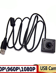 1080p\960P\720P\480P Full HD MINI USB Camera for machine with 3.7mm Lens Support Linux  XP System