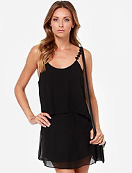 Women's Backless dress (chiffon)