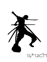 Funny One Piece Roronoa Zoro Car Sticker Car Window Wall Decal Car Styling