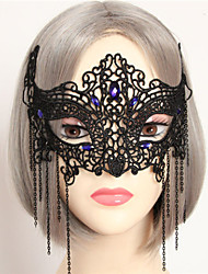 Halloween Half Face Makeup Ball Lace Mask