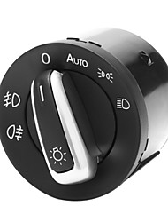 New Auto Chrome Headlight Contorl Switch Fit VW Jetta GTI Golf MK5 MK6