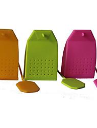 type de sac de thé dispositif de fabrication de couleur aléatoire
