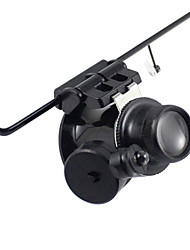 Monocular / Magnifiers/Magnifier Glasses Watch RepairHigh Definition / Wide Angle / LED / Headset/Eyewear / Weather Resistant / Fogproof